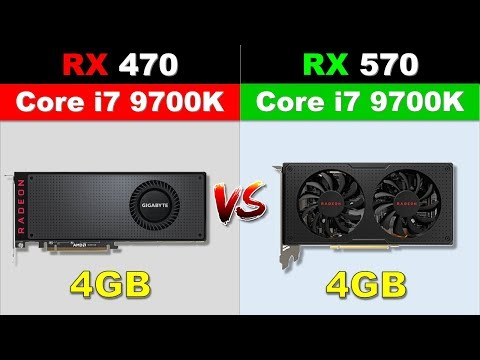 RX 470 VS RX 570 New Games Benchmarks 1080p & 1440p
