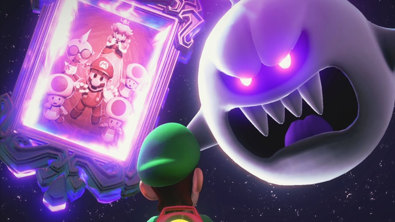 Luigi S Mansion 3 Final Boss Fight King Boo