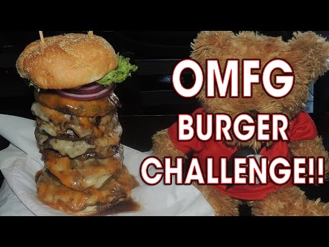 OMFG BURGER CHALLENGE IN TUCSON, ARIZONA!!
