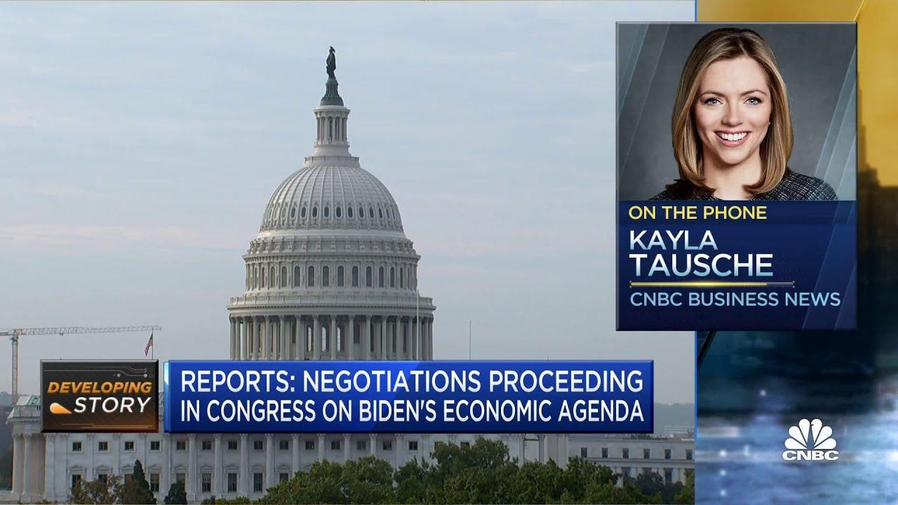 Download Congress continues negotiations over President Joe Biden's economic agenda: Reports