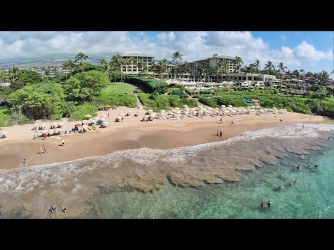 Aerial Hawaii: Wailea Beach, Maui (October 2014)