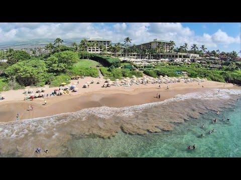 aerial-hawaii:-wailea-beach,-maui-(october-2014)