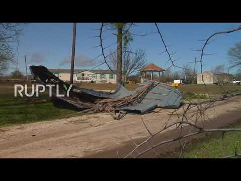 USA: Storms wreak havoc in northern Texas