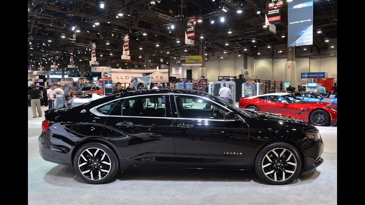 Impala 2014 chevrolet impala accessories : 2015 Chevrolet Impala blackout concept - YouTube