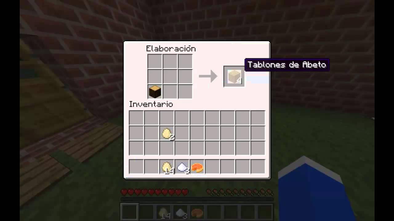 Minecraft como hacer pie de calabaza y sopa de hongos - Como hacer sopa de setas en minecraft ...