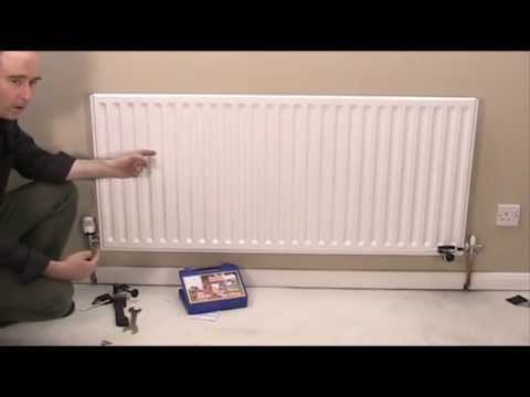 remove a radiator without draining youtube. Black Bedroom Furniture Sets. Home Design Ideas
