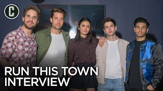 Run This Town: Nina Dobrev, Ben Platt, Mena Massoud, Scott Speedman, Ricky Tollman Interview