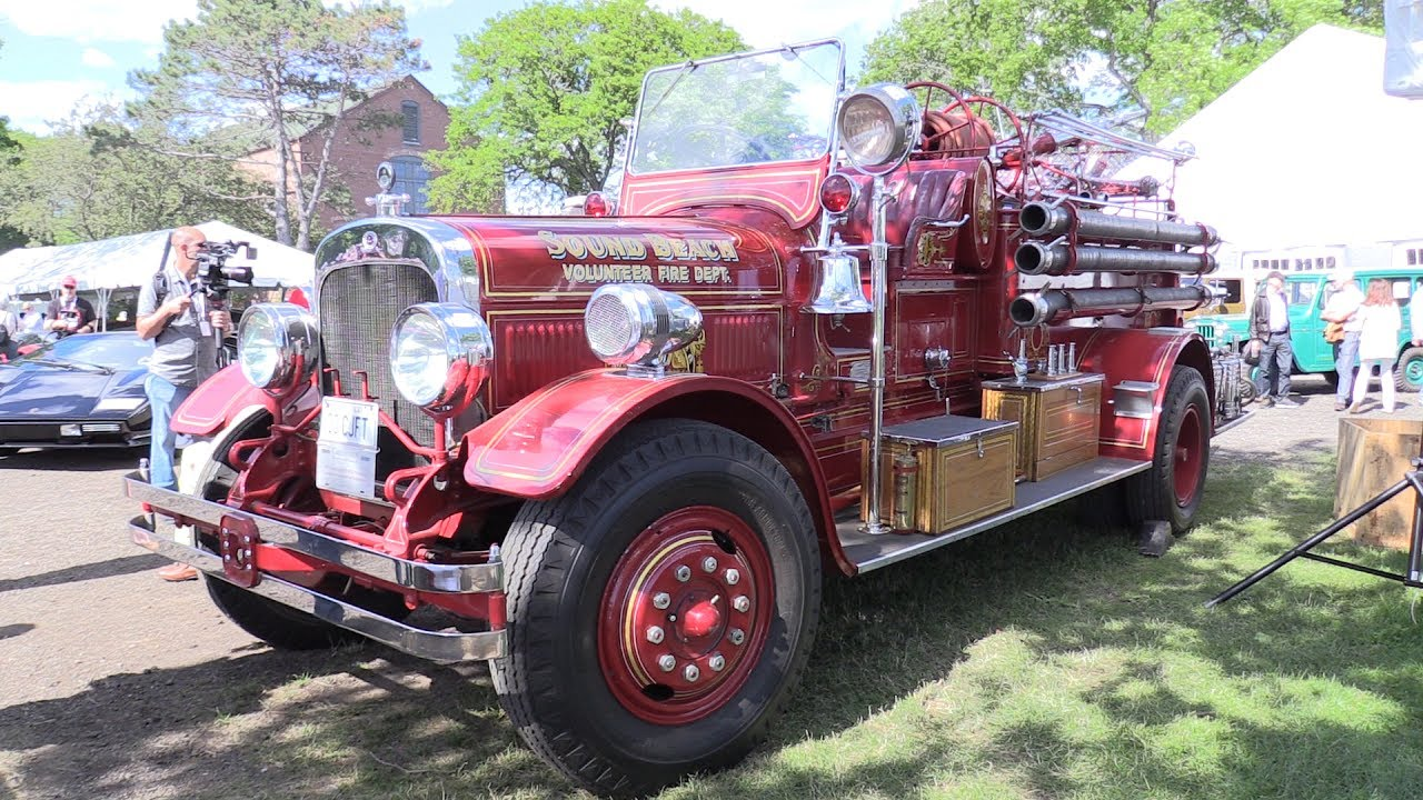 Seagrave Fire Apparatus >> 1931 Seagrave Fire Truck At Greenwich Concours D Elegance