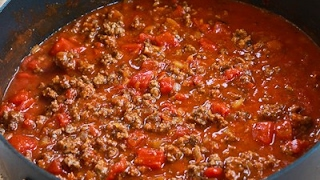 How to Cook Ground beef in tomato sauce easiest way