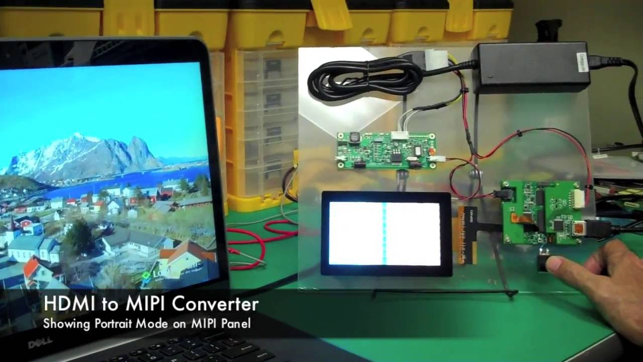 Q-Vio | Plug and Play Your MIPI Display
