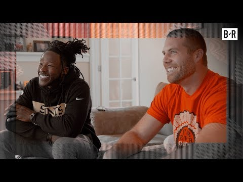 Carmelo Anthony Sends Alvin Kamara to Meet Real-Life Hero Who Stopped School Shooting (B/Real)