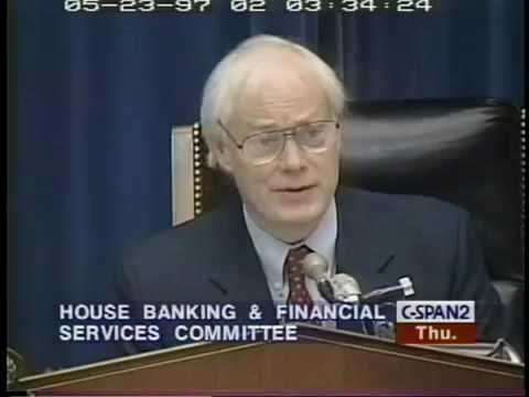 Alan Greenspan: Financial Services Industry Restructuring Part 1 (1997)