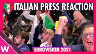 Eurovision 2021: Italian journalists react to Måneskin's win during voting segment