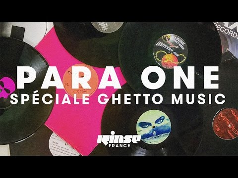 Para One spéciale Ghetto Music (live) - Rinse France
