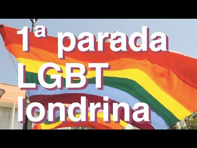 1ª PARADA CULTURAL LGBT LONDRINA 🏳️🌈 #orgulho #diversidade