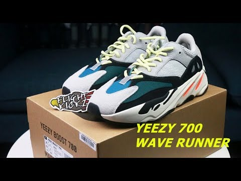 sports shoes 819d1 9f647 YEEZY 700 WAVE RUNNER UNBOXING / 3M TEST REVIEW