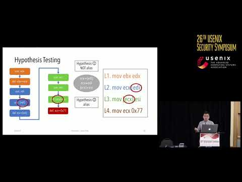 USENIX Security '17 - Postmortem Program Analysis with Hardware-Enhanced Post-Crash Artifacts