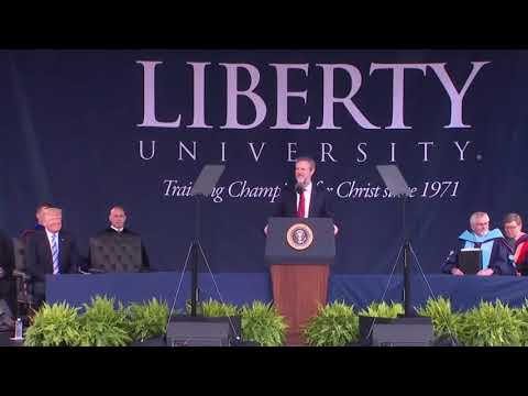 FULL. President Trump Commencement Speech at Liberty University. May 13, 2017.