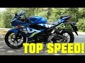 2018 Suzuki GSX-R125 TOP SPEED