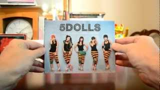 "unboxing 5DOLLS ""Mini Album Vol. 1"" CD video review Mp3"