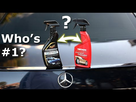 Meguiars Ultimate Spray Detailer or Mothers: Which is Best?