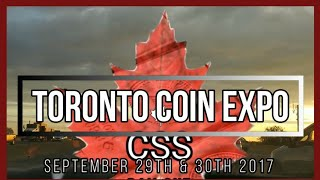 My weekend at the Toronto Coin Expo. I picked up a wide variety of awesome silver items.
