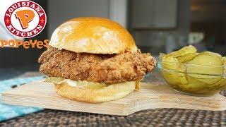 How To Make Popeyes New Chicken Sandwich