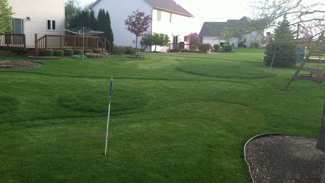 backyard golf hole outdoor goods