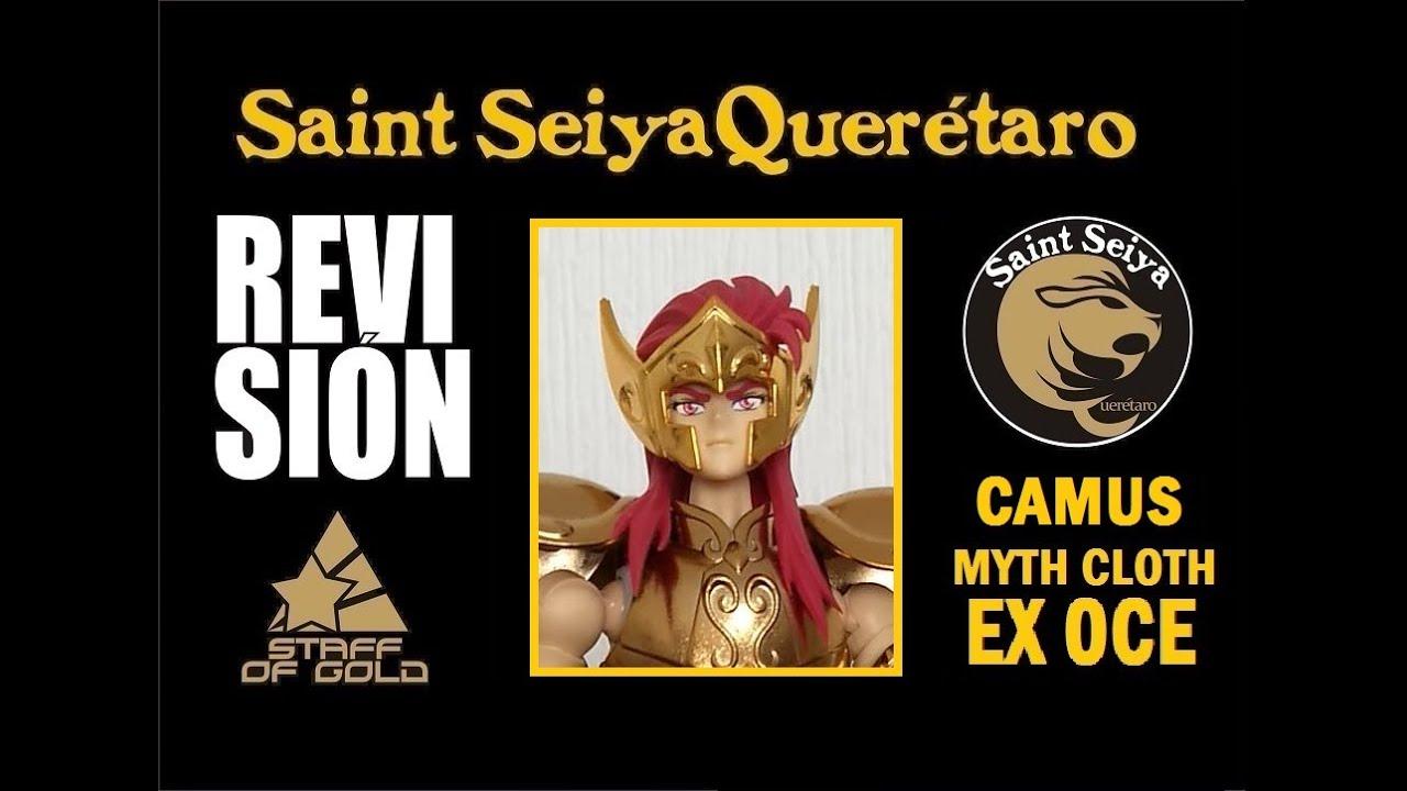 Revisión Camus de Acuario Myth Cloth EX OCE Saint Seiya Querétaro