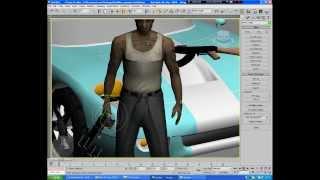 Видеоурок №2 - Делаем подписку на форум,с машиной [3D Max]