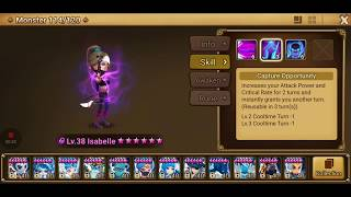 Summoners War - How to Rune Isabelle in 7 mins