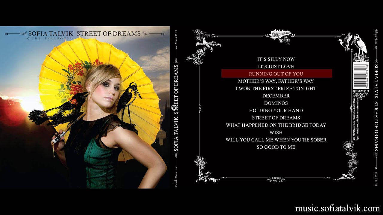 Download Sofia Talvik - Running Out of You (Street Of Dreams - YouTube Album)