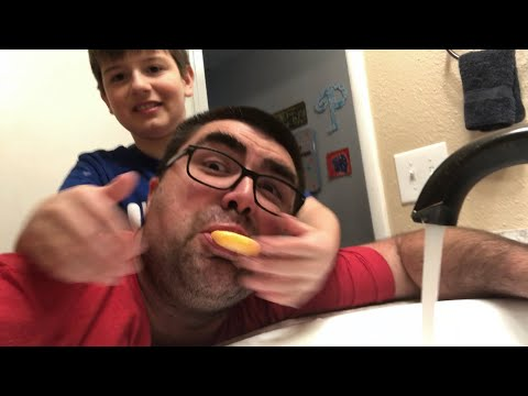 Kid Temper Tantrum Puts Soap In Dad's Mouth Because He Said A Curse Word  [ Original ]