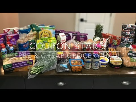 FREE & CHEAP GROCERY HAUL – May 5th 2017 – COUPONING IN CANADA