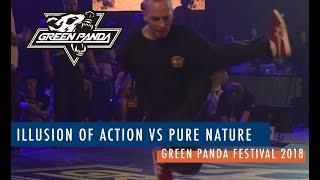 Illusion of Action vs Pure Nature - Półfinał ekip na Green Panda Festival 2018