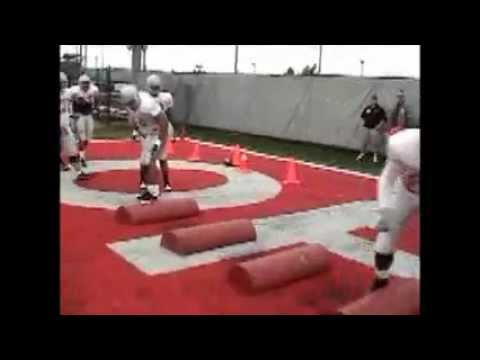 Football Drills -- Defensive Line Fundamentals Series by IMG Academy ...