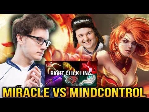 MIRACLE LINA vs MINDCONTROL LICH - It's Not Even Fair Bro! Dota 2 thumbnail
