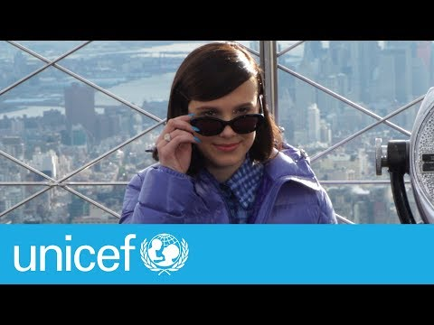 Millie Bobby Brown's first day as a Goodwill Ambassador | UNICEF