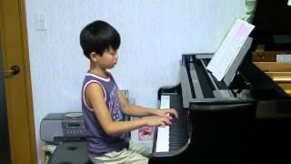 とても好きな曲だそうです。家で練習しています。