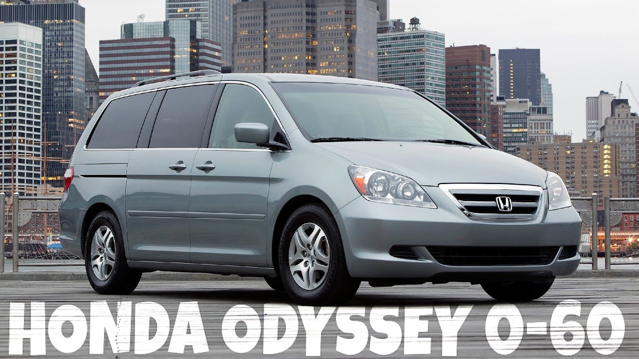 2007 honda odyssey 0 60 youtube. Black Bedroom Furniture Sets. Home Design Ideas