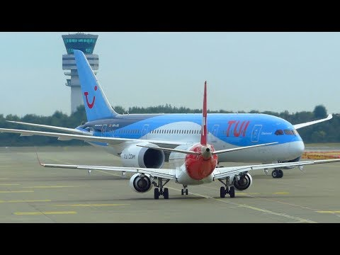 40 Minutes Terminal Spotting at Brussels Airport BRU! incl. 787, A330, E190 & Avro