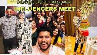 KERALA''S FIRST INFLUENCER MEET AT GRAND HYATT || ASHNA&SALEEL || VLOG 227