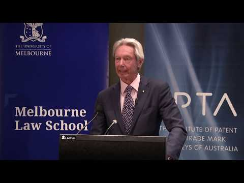2018 Francis Gurry Lecture On Intellectual Property