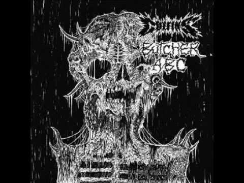 COFFINS (japan) split 7´´EP 2015 w/Butcher ABC