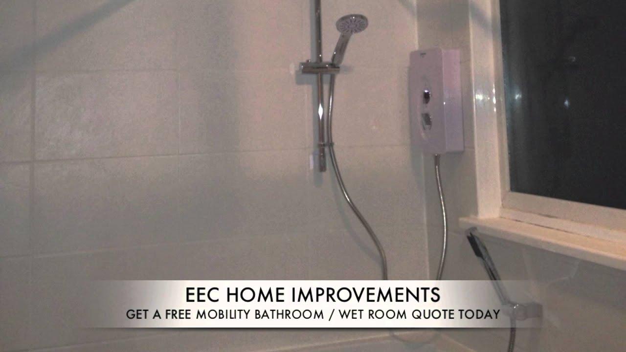 EEC Home Improvements Mobility Bathroom / Sit Down Shower ...