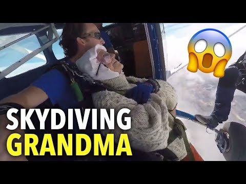 Doc Reno - Fearless 102-year-old skydiving grandma