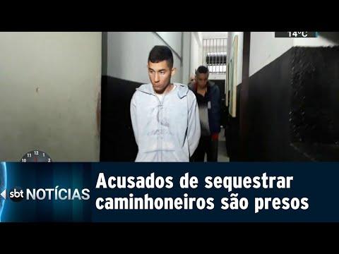 Quadrilha que praticava sequestros-relâmpago em São Paulo é presa   SBT Notícias (25/07/18)