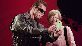 Arnold Schwarzenegger's Wax Figure PRANK | What's Trending Now