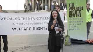 """let Them Eat Cake"" Welfare Rights Rally"