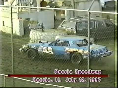 1997 Peoria Speedway Street Stock Heat Race